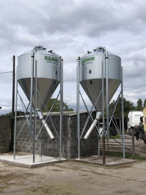 Low Level Side Discharge Silo available at N.D. Jeans Enginerring