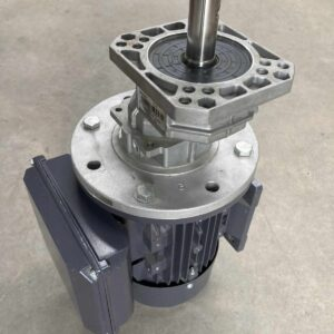 Single Phase motor for a Single Reduction gearbox.